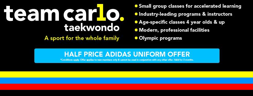 Team Carlo Taekwondo Taylors Lakes